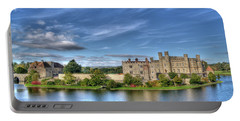 Bench View Of Leeds Castle Portable Battery Charger