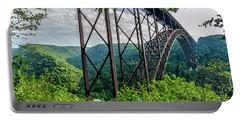 Beneath New River Gorge Bridge Portable Battery Charger
