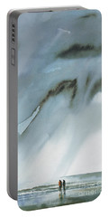 Beneath Turbulent Skies Portable Battery Charger