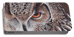 Bengal Eagle Owl Portable Battery Charger