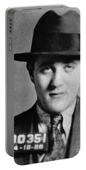 Portable Battery Charger featuring the photograph Benjamin Bugsy Siegel by Granger