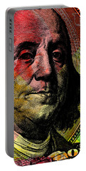 Benjamin Franklin - $100 Bill Portable Battery Charger