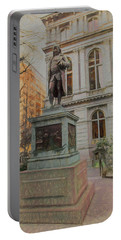Benjamin Franklin Sketch Portable Battery Charger