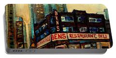 Bens Restaurant Deli Portable Battery Charger
