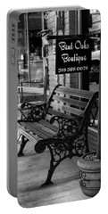 Portable Battery Charger featuring the photograph Bent Oaks Boutique by Ester Rogers