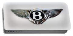 Bentley Emblem -0081c Portable Battery Charger