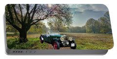 Portable Battery Charger featuring the photograph Bentley On A Country Road by Ericamaxine Price