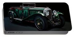 Bentley Open Tourer 1929 Painting Portable Battery Charger