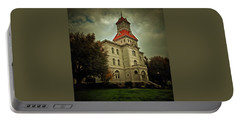 Benton County Courthouse Portable Battery Charger by Thom Zehrfeld