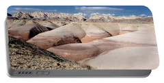 Bentonite Mounds Portable Battery Charger