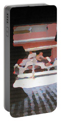 Portable Battery Charger featuring the photograph Bermuda Carriage Impressions by Ian  MacDonald