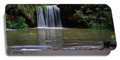 Portable Battery Charger featuring the photograph Berowra Waterfall by Werner Padarin