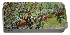 Berries On The Vine Portable Battery Charger