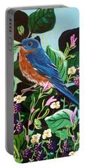 Berry Bluebird Portable Battery Charger
