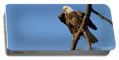 Portable Battery Charger featuring the photograph Berry Eagle by Geraldine DeBoer