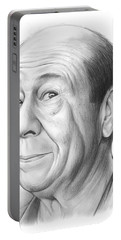Bert Lahr Portable Battery Charger by Greg Joens
