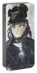 Berthe Morisot Portable Battery Charger by Stan Tenney