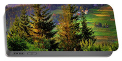 Portable Battery Charger featuring the photograph Beskidy Mountains by Mariola Bitner