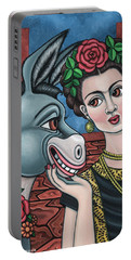 Beso Or Fridas Kisses Portable Battery Charger