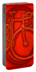 Bespoked In Orange  Portable Battery Charger by Mark Jones