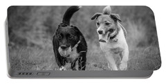 Portable Battery Charger featuring the photograph Best Buddies by Nick Bywater