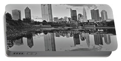 Portable Battery Charger featuring the photograph Best Columbus Black And White by Frozen in Time Fine Art Photography