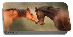 Best Friends - Two Horses Portable Battery Charger