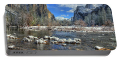 Best Valley View Yosemite National Park Image Portable Battery Charger