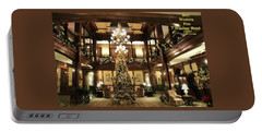 Best Western Plus Windsor Hotel Lobby - Christmas Portable Battery Charger
