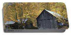 Bethel Mountain Farm Portable Battery Charger by John Rivera