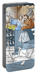 Nativity Selfie Portable Battery Charger