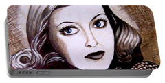 Bette Davis 1941 Portable Battery Charger by Tara Hutton