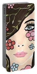 Betty - Contemporary Woman Portable Battery Charger