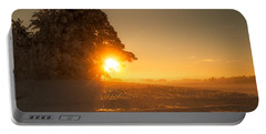 Portable Battery Charger featuring the photograph Between Day And Night by Rose-Maries Pictures