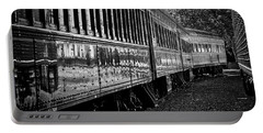 Portable Battery Charger featuring the photograph Between Trains by Mitch Shindelbower