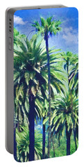 Beverly Hills Palms Portable Battery Charger