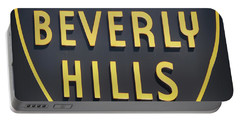 Beverly Hills Sign Portable Battery Charger