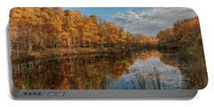 Beyer's Pond In Autumn Portable Battery Charger