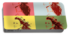 Beyonce Pop Art Panels Portable Battery Charger
