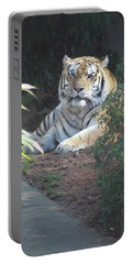 Portable Battery Charger featuring the photograph Beyond The Branches by Laddie Halupa