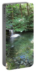 Portable Battery Charger featuring the photograph Beyond The End Of The Trail At Limpy Creek by Marie Neder