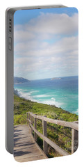 Portable Battery Charger featuring the photograph Bibbulmun Track Albany Wind Farm by Ivy Ho