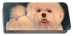Bichon Frise Portable Battery Charger