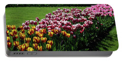 Multicolor Tulips Portable Battery Charger