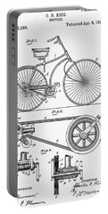 Bicycle Patent 1890 Portable Battery Charger by Bill Cannon