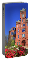 Biddle Hall In The Spring Portable Battery Charger