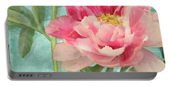 Bienvenue - Peony Garden Portable Battery Charger