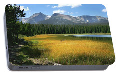 Portable Battery Charger featuring the photograph Autumn At Bierstadt Lake by David Chandler