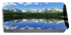 Bierstadt Lake In Rocky Mountain National Park Portable Battery Charger by Ronda Kimbrow
