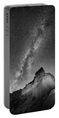 Portable Battery Charger featuring the photograph Big And Bright In Black And White by Stephen Stookey